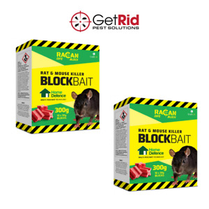 Rat Bait Poison Killer Block Extra Strong Strength Quick Effective Kills Rodents