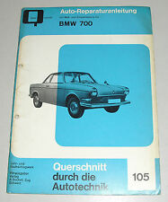 Reparaturanleitung BMW 700 C + CS + LS / Coupe + Cabrio, Baujahre 1959 - 1965
