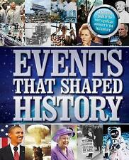 & EVENTS THAT SHAPES HISTORY Hardcover BOOK TEXTBOOK Last Century Free Shipping