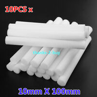10x USB Replacement Filter For Cotton Refill Sticks Caps Air Humidifier Diffuser