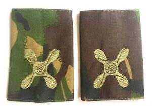 DPM Camouflage Rank Slides NEW - Junior Technician - Sold As Pair - SP68