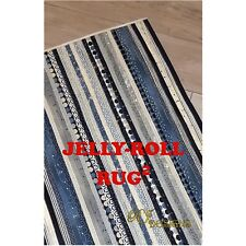 Jelly Roll Rug 2 Pattern by RJ Designs