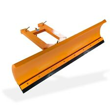 Gabelstapler Schneepflug f. Stapler DS150 150cm orange Schnee räumschild schild