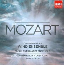 Mozart: Complete Music for Wind Ensemble (CD, May-2012, 7 Discs, EMI Classics)