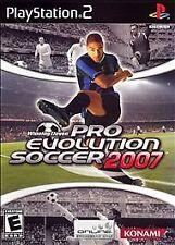 Winning Eleven: Pro Evolution Soccer 2007 (Sony PlayStation 2, 2007) PS2 Disc