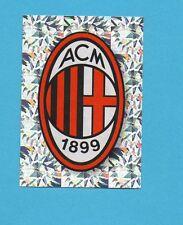 PANINI CALCIATORI 2009-2010-Figurina n.289- SCUDETTO/BADGE-MILAN-NEW