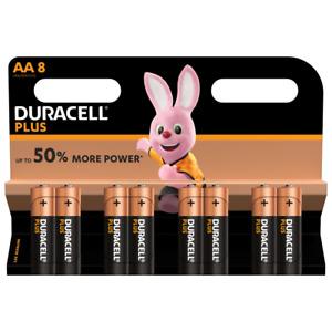 8er Blister AA Duracell Plus Power LR6 MN1500 1,5V Alkaline