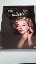 """DVD """"NIEBLA EN EL ALMA"""" COMO NUEVA MARILYN MONROE ROY BAKER RICHARD WIDMARK"""