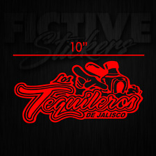 Tequileros de Jalisco Sticker Decal RED **FREE SHIPPING**