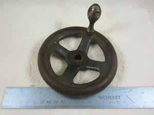 "Logan 10"" Lathe Apron Handwheel 5"" Diameter 1/2"" Bore"