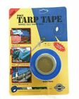 """Extra Thick 2"""" x 35 Ft. Poly Tarp Cover Tents Awnings Repair Adhesive Tape Black"""