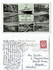 POST CARD REAL PHOTO JUST ARRIVED AT VENTNOR I.O.W