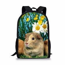 Lovely Guinea pig Backpack College Shoulder Satchel Fashion Book Bags Satchel