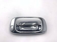 For 99-06 Silverado GMC Sierra 1500 2500 3500 Tailgate Latch Handle Bezel Chrome