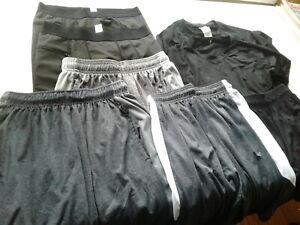 Lot Of Mens Basketball Sports Clothes Great Shape (shorts,baselayer)