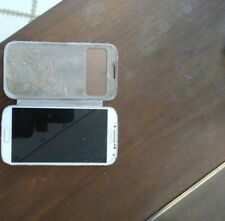 Samsung Galaxy S4 GT-I9500 cracked screen READ THE DESCRIPTION (for parts)