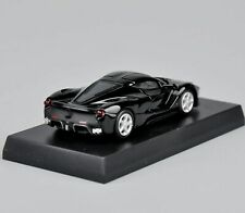 1/64 scale Diecast Car Model Black Kyosho Ferrari Laferrari Collectible Vehicle