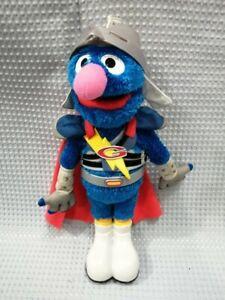 Sesame Street Flying Talking Super Grover 2011 Hasbro Working #842