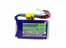 Turnigy nano-tech 180mAh 2S 7.4V 25-40C Lipo Pack E-flite Compatible EFLB1802S20