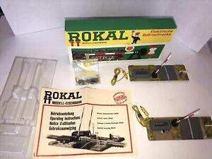 Rokal TT New in Box VINTAGE Electric Train Barriers / Gates