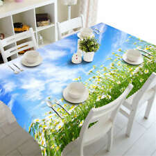 Perfect Encounter3D Tablecloth Table cover Cloth Rectangle Wedding Party Banquet