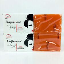 Kojie San Kojic Acid Skin Lightening Whitening Soap x 2 Bars 135g each Genuine