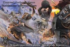Shieldwolf Miniatures Shieldmaiden Infantry and Rangers 28mm Female Warriors