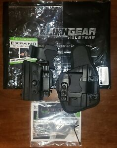 """Alien Gear Holster Springfield Armory XD9 Subcompact 9mm 3"""" Right Hand Draw NEW"""