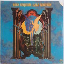 LALO SCHIFRIN: Rock Requiem USA Verve Jazz Psych Rock MIKE CURB Vinyl LP