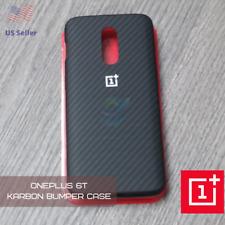 OnePlus 6T | Karbon Bumper Case in Black  📲 (Carbon Fiber Design)