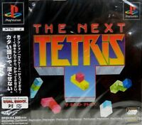 USED PS1 PS PlayStation 1 The Next Tetris
