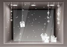 Adesivo Vetrofania Natale Decorazione Natalizie Adesivo Vetrina Stelline Negozio