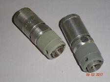 RFT / FWB  Stecker NF-codiert  RFT / Funkwerk -Köpenick, 2 Stück
