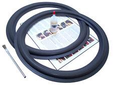 """2 Kenwood 15"""" KL777A Speaker Foam Repair Kit - LSB9000D, LSB9100 - 2A15"""