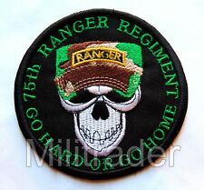 "US 75th Ranger Regiment ""Go Hard or Go Home"" Patch"