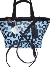 NWT Coach  Ocelot Print  Mini  Crosby Carryall Handbag Shoulder Bag  34334
