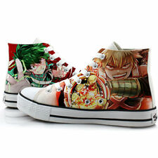 Anime My Hero Academia Canvas Casual Sneakers Shoes Unisex Cosplay Lolita#7545