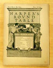 Maxfield Parrish Cover Art Complete HARPER'S ROUND TABLE June 1898 Vol.1.No.8