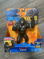🔥 NEW Godzilla Vs Kong Battle Roar 7 Inch Kong w/ Monster Sounds Playmates
