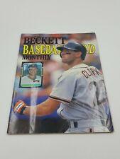 Beckett Baseball Card Magazine #52 July 1989 Will Clark Ernie Banks