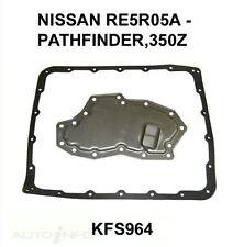 Auto Transmission Filter Kit Fits: NISSAN PATROL TB48DE  6 Cyl MPFI GU 01-12