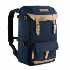 K&F Camera Backpack Multi-Functional Photography Travel Bag for DSLR Camera Blue