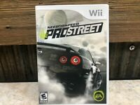 Need for Speed: ProStreet (Nintendo Wii, 2007)  COMPLETE, READY TO SHIP TODAY