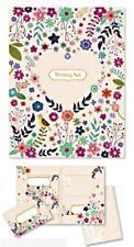 LETTER WRITING SET 20 envelopes A5 sheets FLOWERS BIRD gift kids adult Vintage