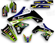 2009 2010 2012 KXF 250 GRAPHICS KIT KAWASAKI KX250F KX F 250F MX  GRAPHIC KXF250