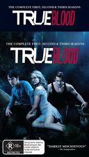 True Blood : Season 1-3 (DVD, 2011, 15-Disc Set) Box Set