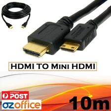 BRAND NEW 10m HDMI to Mini HDMI Cable Adapter 1080P for Tablet Camera Smartphone