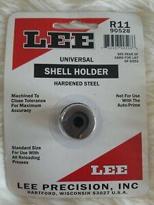 Lee Hardened Steel Universal Shellholder for Reloading Presses R-11 90528