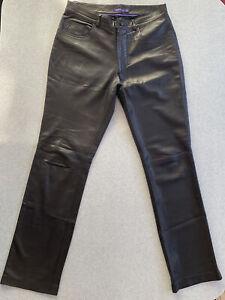 Ralph Lauren Purple Label Pants Softest Lambskin 32x33-PRICED FOR QUICK SALE