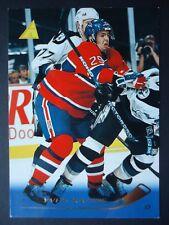 NHL 178 Yves Racine Montreal Canadiens Pinnacle 1995/96 (6,4 x 8,9)